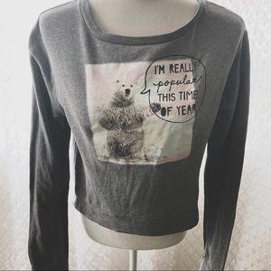 Abercrombie Graphic Pull Over Sweatshirt